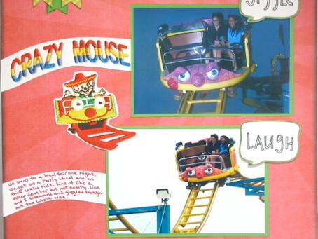 Scrapbook Sunday: Crazy Mouse Ride