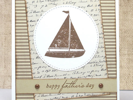 Sailboat Father's Day Card