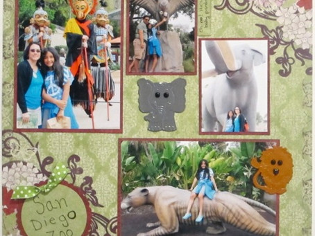 Scrapbook Sunday: San Diego Zoo