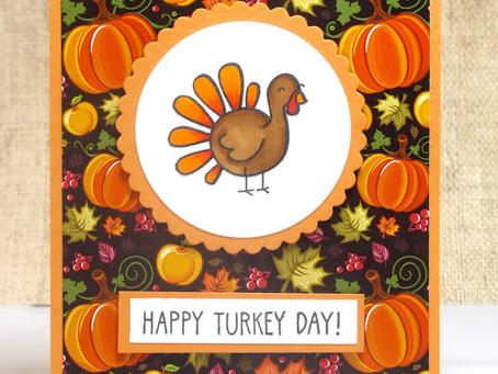 Turkey Day Card (Again)