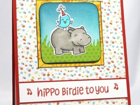 Hippo Birdie To You Birthday Card