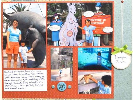 Scrapbook Sunday: Tampa Zoo