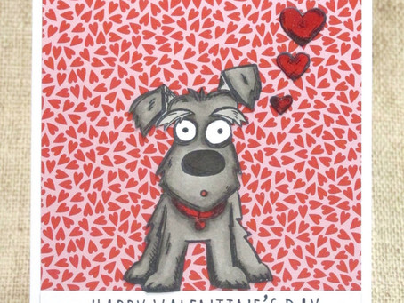 Valentine Card for Dog Lovers