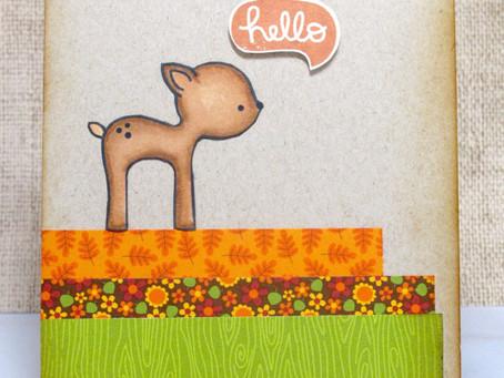 Hello Deer Card