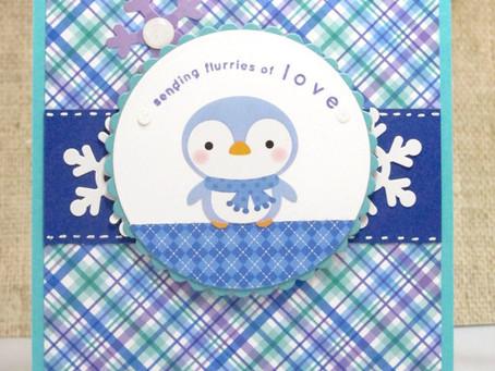 Flurries of Love Card