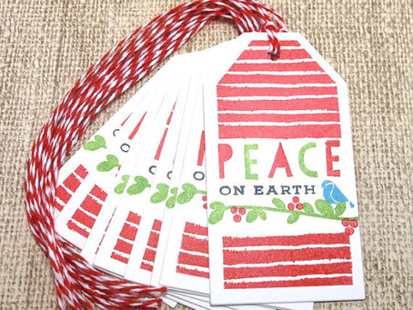 Peace On Earth Gift Tags