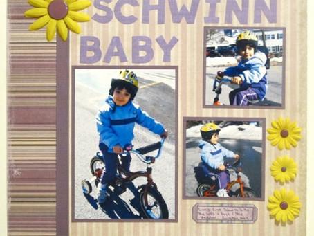 Scrapbook Monday: Schwinn Baby
