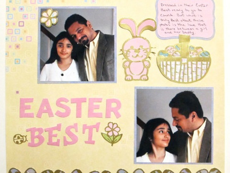 Scrapbook Sunday: Easter Best
