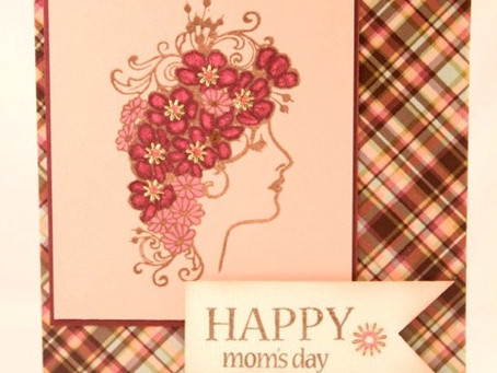 Happy Mom's Day Card