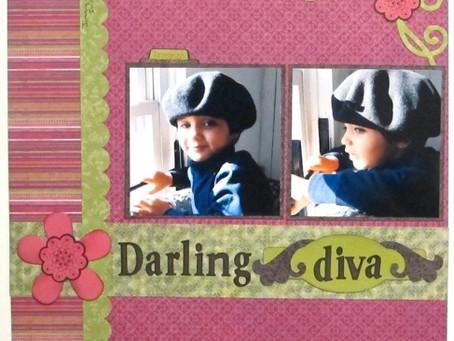 Scrapbook Sunday: Darling Diva