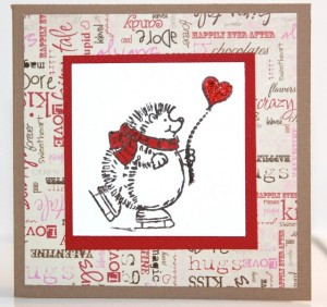 Mini Hedgehog Valentine's Cards