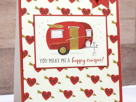 Happy Camper Valentine