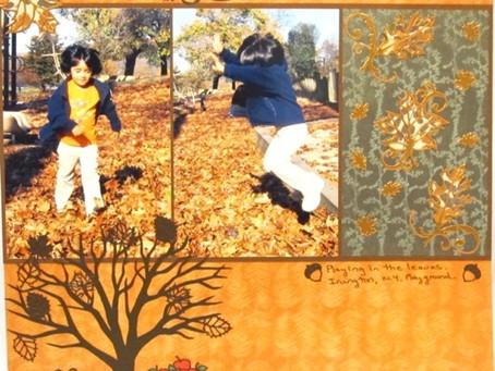 Scrapbook Sunday: Fall Fun