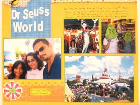 Scrapbook Sunday: Dr. Seuss World