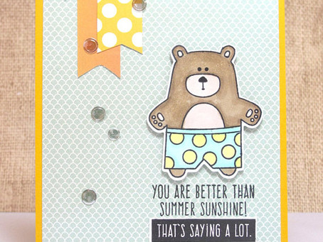 Summer Bear Card