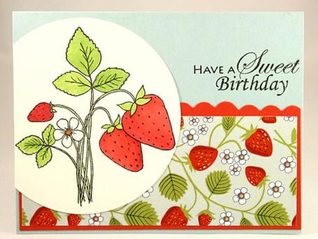 Sweet Strawberry Birthday