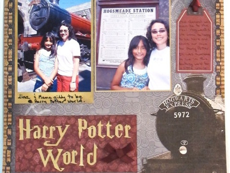 Scrapbook Sunday: Harry Potter