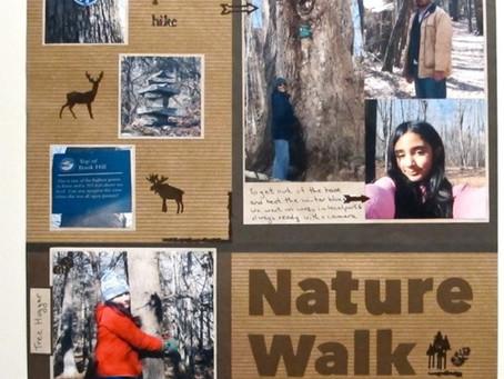 Scrapbook Sunday: Nature Walk