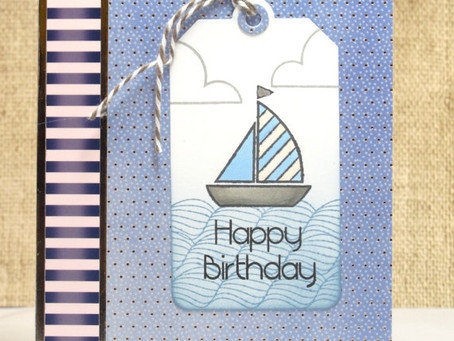 Birthday Sailboat Card