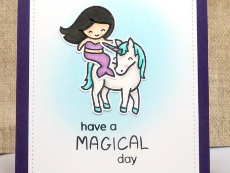Mermaid Unicorn Card