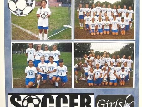 Scrapbook Sunday: Soccer Girls