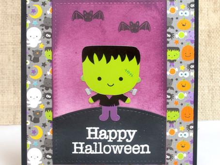 Little Frank Halloween Card