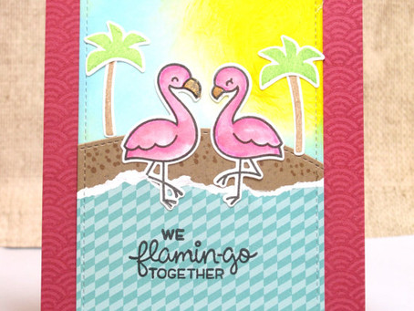 Flamin-go Together Card