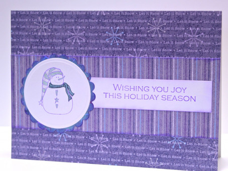 Frosty Holiday Card