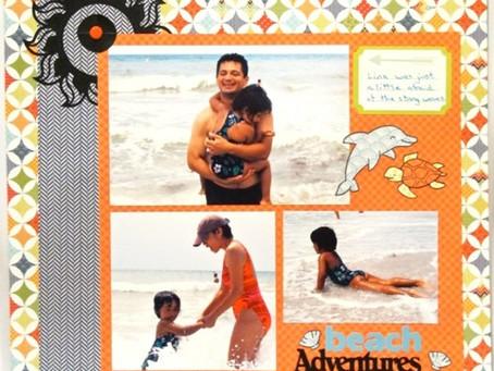 Scrapbook Sunday: Beach Adventures