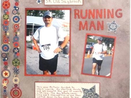 Scrapbook Sunday: Running Man