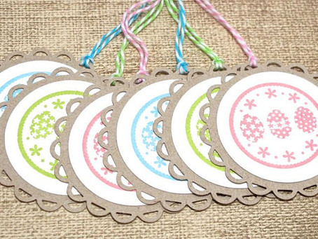 Easter Eggs Tags
