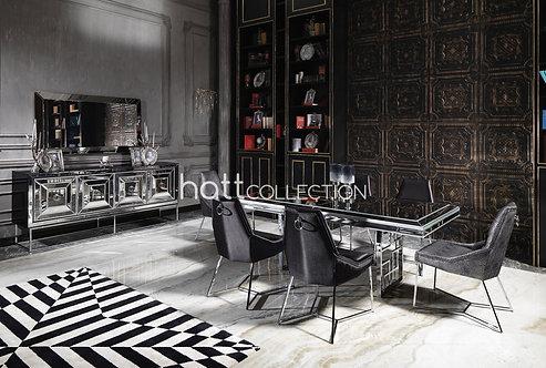 Elegant Silver Yemek Odası