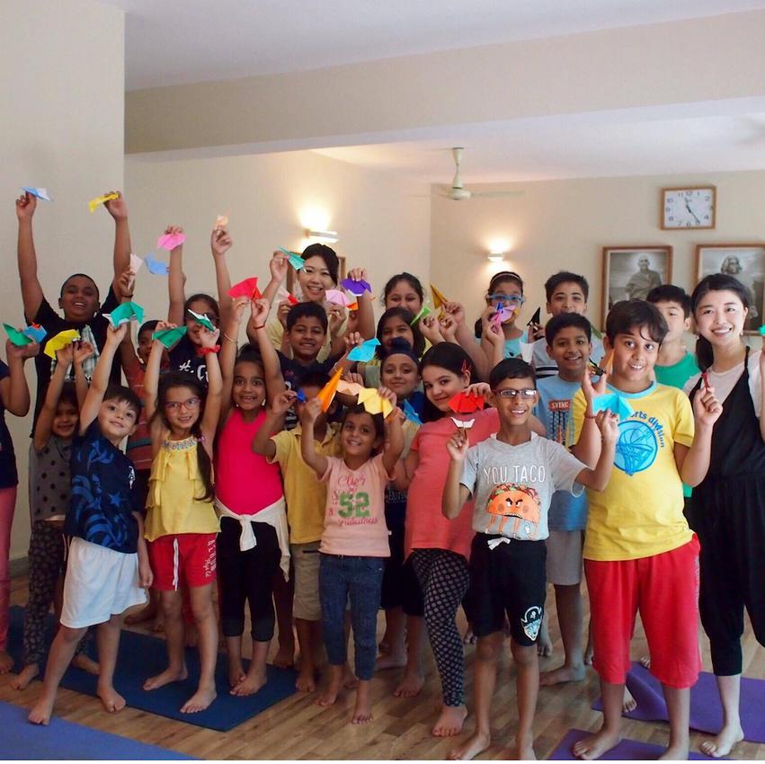 Kid's Yoga in Delhi, India