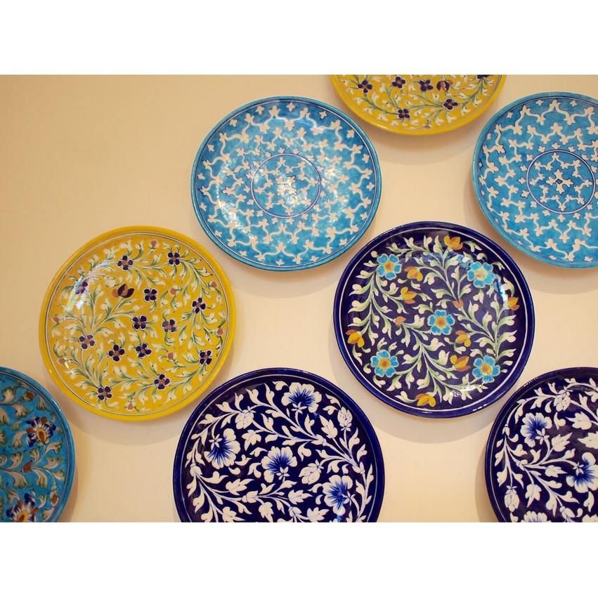 Jaipur/ Blue pottery