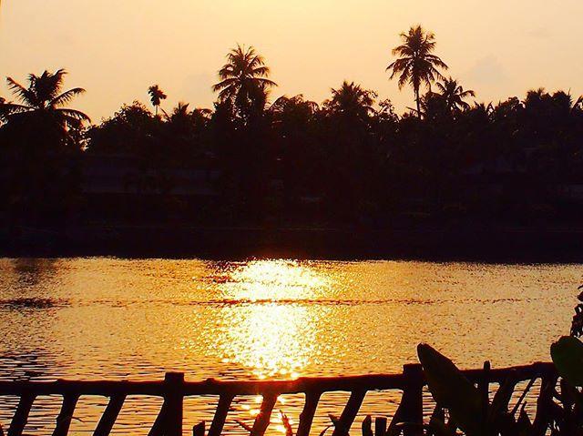 Kerala/ sunset time...