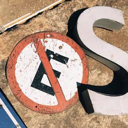 Placa Estacionamento Proibido