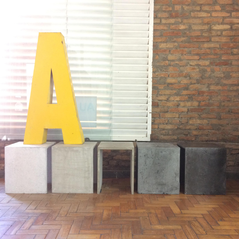 bancos de concreto