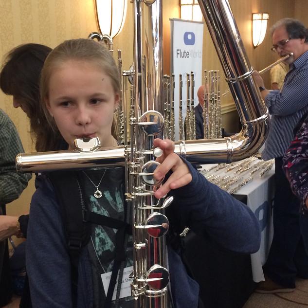 Contrabass flute!