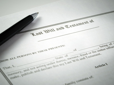 Appointing an Executor