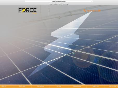 New Solar Power Site