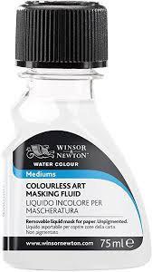 Colourless Masking Fluid