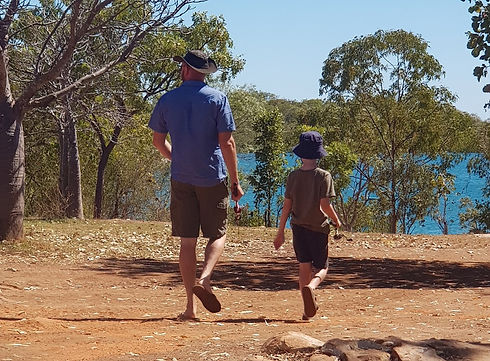 Barry Trippit family camping kimberley
