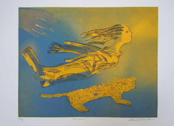 Charles Blackman,The Journey 1 Ed. AP 4/6, triple plate etching image size30 x