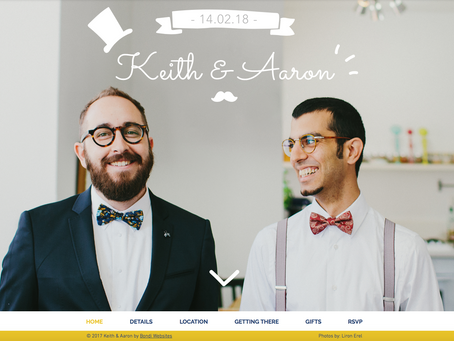 5 great reasons for a wedding website