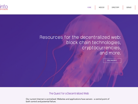 What is the Decentralised Web?