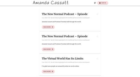 Amanda Cassatt