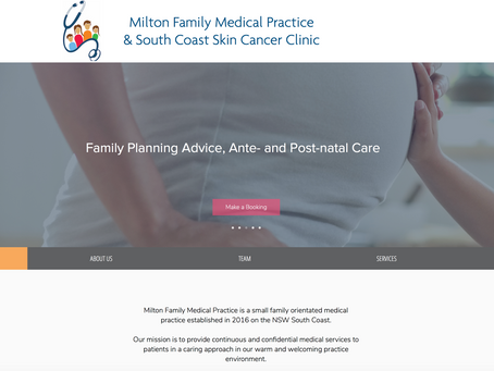 Simple Site for Medical Practice