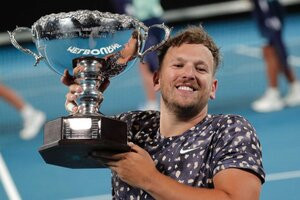 Dylan Alcott accuses US Open organisers of discrimination
