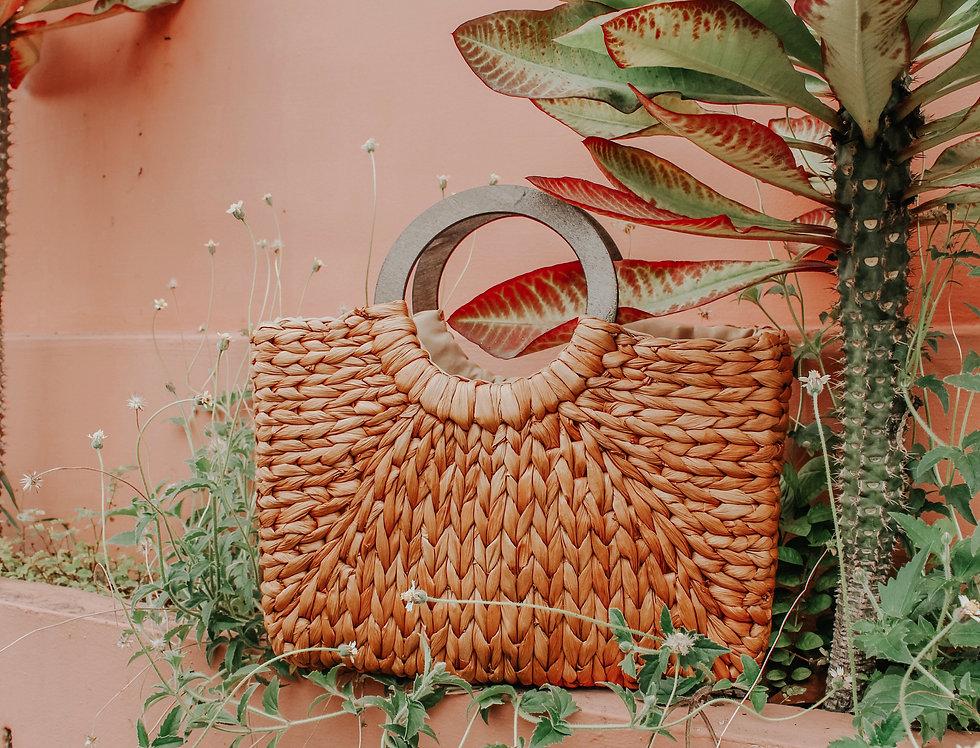 Idalia Rectangle Weaved Bag
