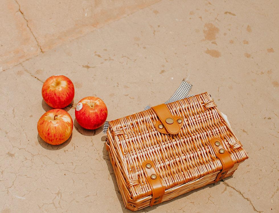 Alona Rattan Basket Bag